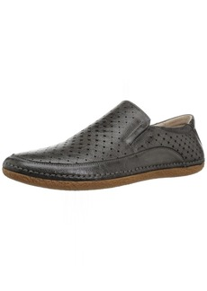 STACY ADAMS Men's NORTHPOINT MOE Toe Slip-ON Driving Style Loafer Gray  M US