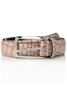 Stacy Adams Men's Ozzie 34 mm Leather Belt misty rose