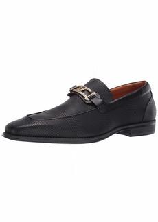 STACY ADAMS Men's Pomeroy Moc Toe Bit Slip-On Loafer   Medium US