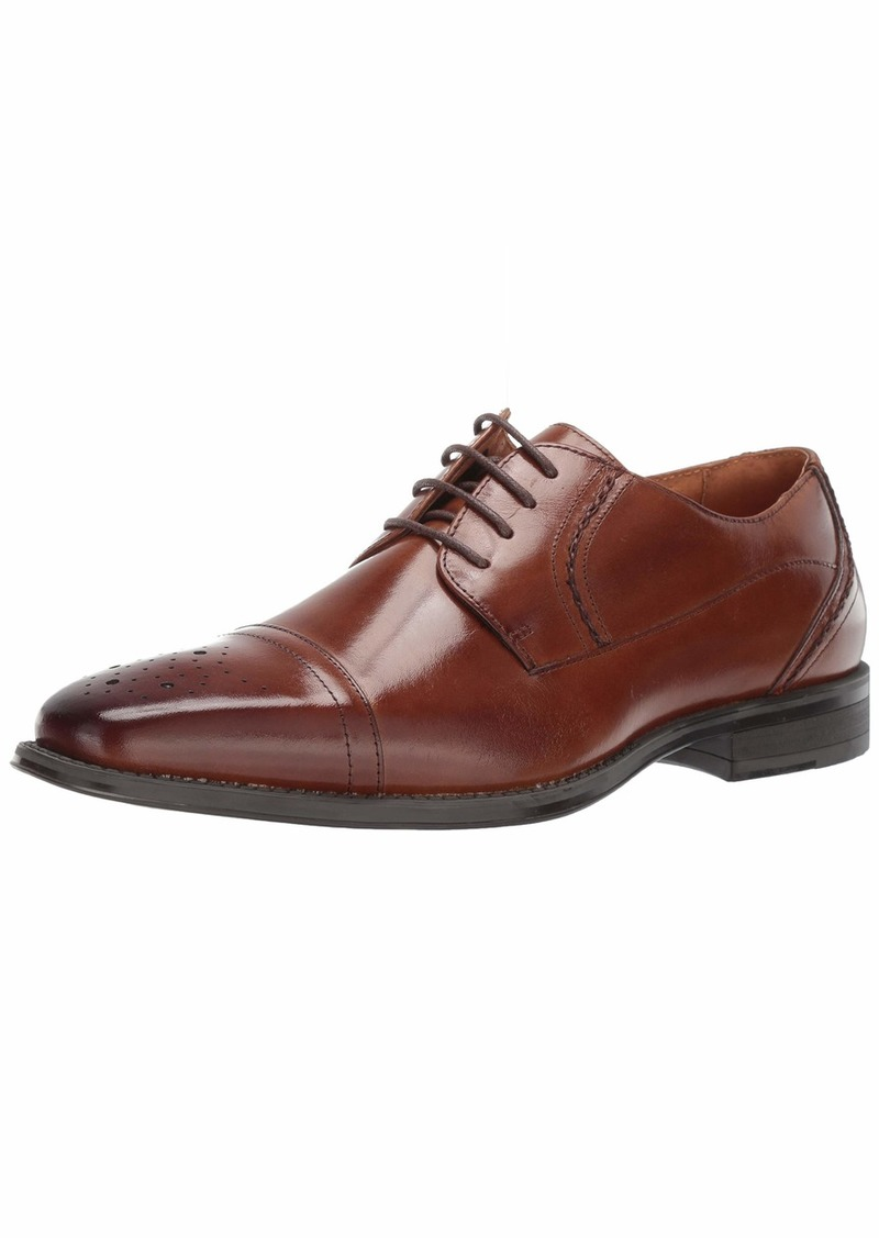 STACY ADAMS Men's Powell Cap-Toe Lace-Up Oxford   M US