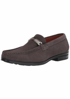 STACY ADAMS Men's Reginald Suede Slip On Loafer Gray