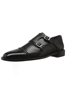 STACY ADAMS Men's Rycroft Cap Toe Double Monk Strap Oxford   M US