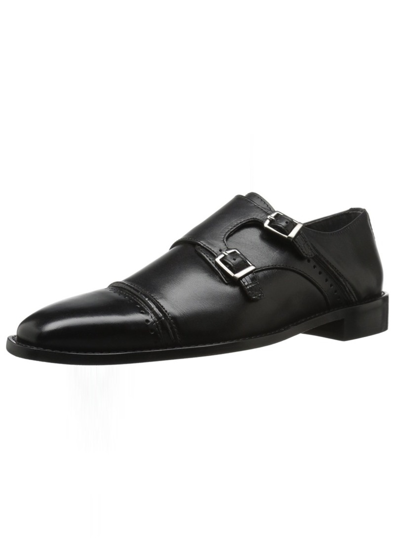 STACY ADAMS Men's Rycroft Cap Toe Double Monk Strap Oxford   M US