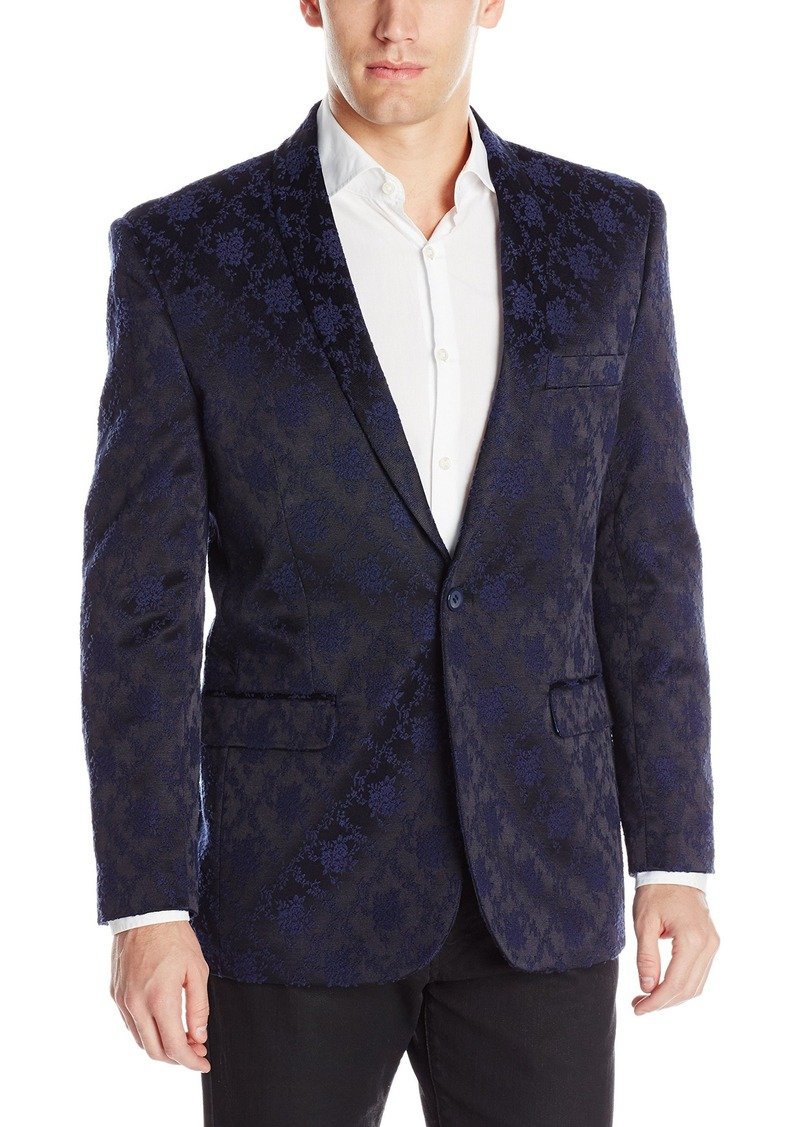 STACY ADAMS Men's Scott Floral Sports Coat