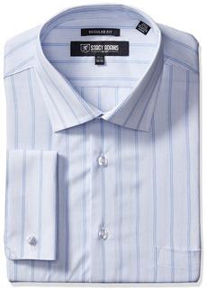 "Stacy Adams Men's Stripe Y.d. Dress Shirt  17.5"" Neck 38-39"" Sleeve"