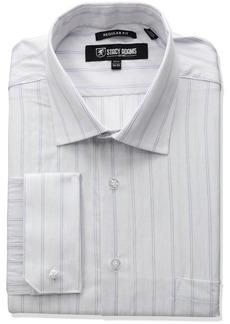 Stacy Adams Men's Stripe Y.d. Dress Shirt