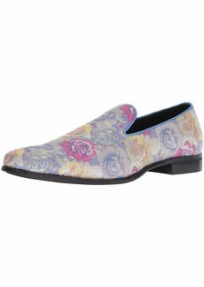 STACY ADAMS Men's Swank Brocade Print Slip-On Loafer   M US