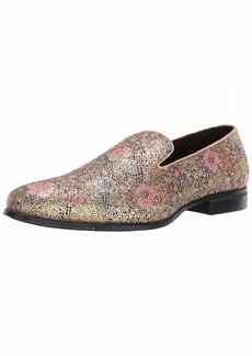 Stacy Adams Men's Swank Glitter Floral Slip-On Loafer  M US