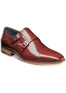 Stacy Adams Men's Tayton Cap-Toe Double-Monk Strap Loafers Men's Shoes