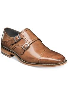 Stacy Adams Men's Tayton Cap-Toe Double-Monk Strap Loafers Men's Shoes