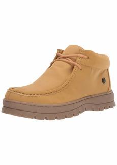 STACY ADAMS Men's Wally Moc Toe Lace-Up Chukka Boot Sneaker