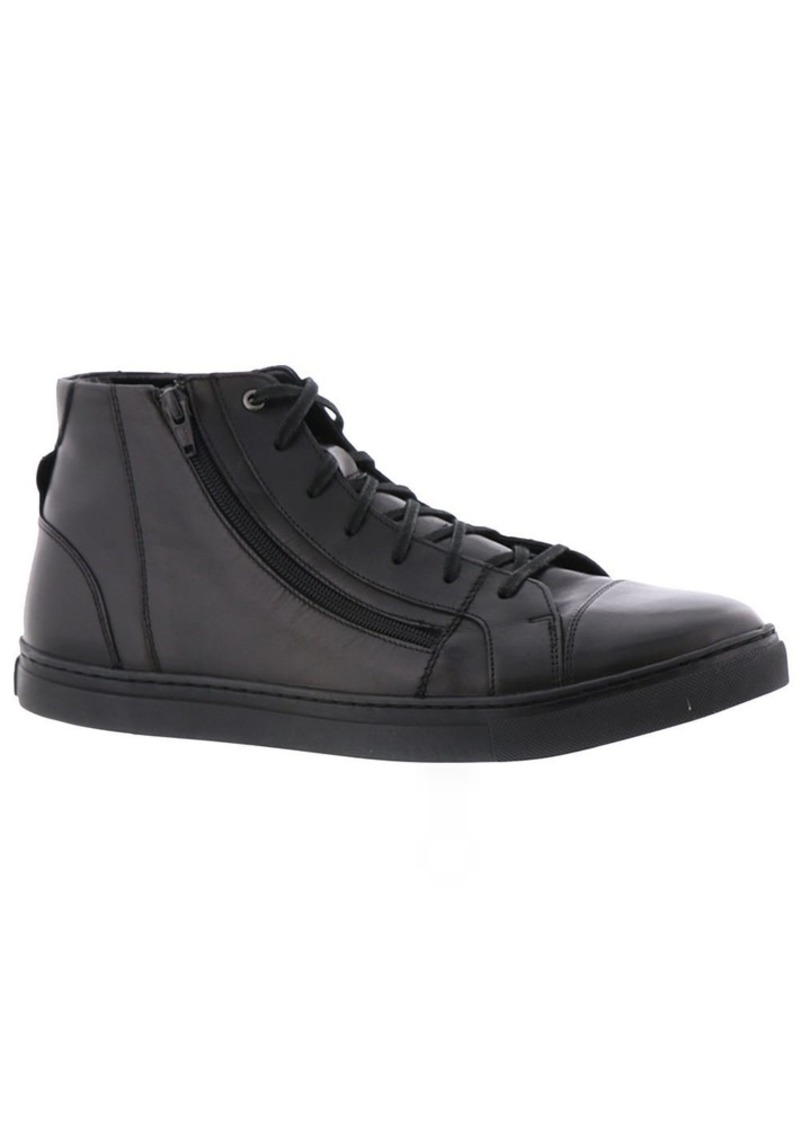 STACY ADAMS Men's Wyn Cap Toe Side Zipper Boot Fashion Sneaker   M US