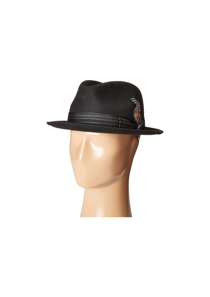 747d4780954 On Sale today! Stacy Adams Pinched Fedora with Stitched Band