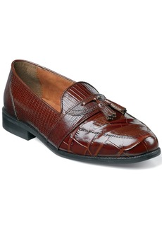 Stacy Adams Santana Printed Tassel Loafers Men's Shoes