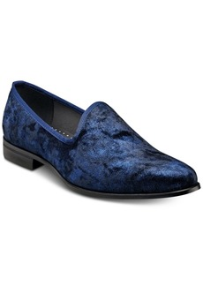Stacy Adams Sulton Velour Slip-On Shoes Men's Shoes