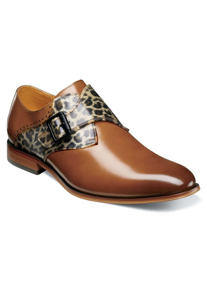 Stacy Adams Sutcliff Monk Strap Shoe (Men)