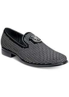 Stacy Adams Swagger Studded Fabric Slip-On Shoes Men's Shoes