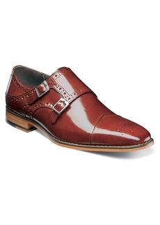 Stacy Adams Tayton Cap Toe Double Strap Monk Shoe (Men)