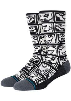 Stance 1985 Haring Combed Cotton Blend Socks