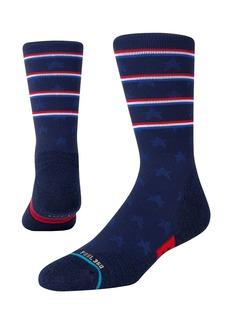 Stance Independence Crew Cotton Blend Socks