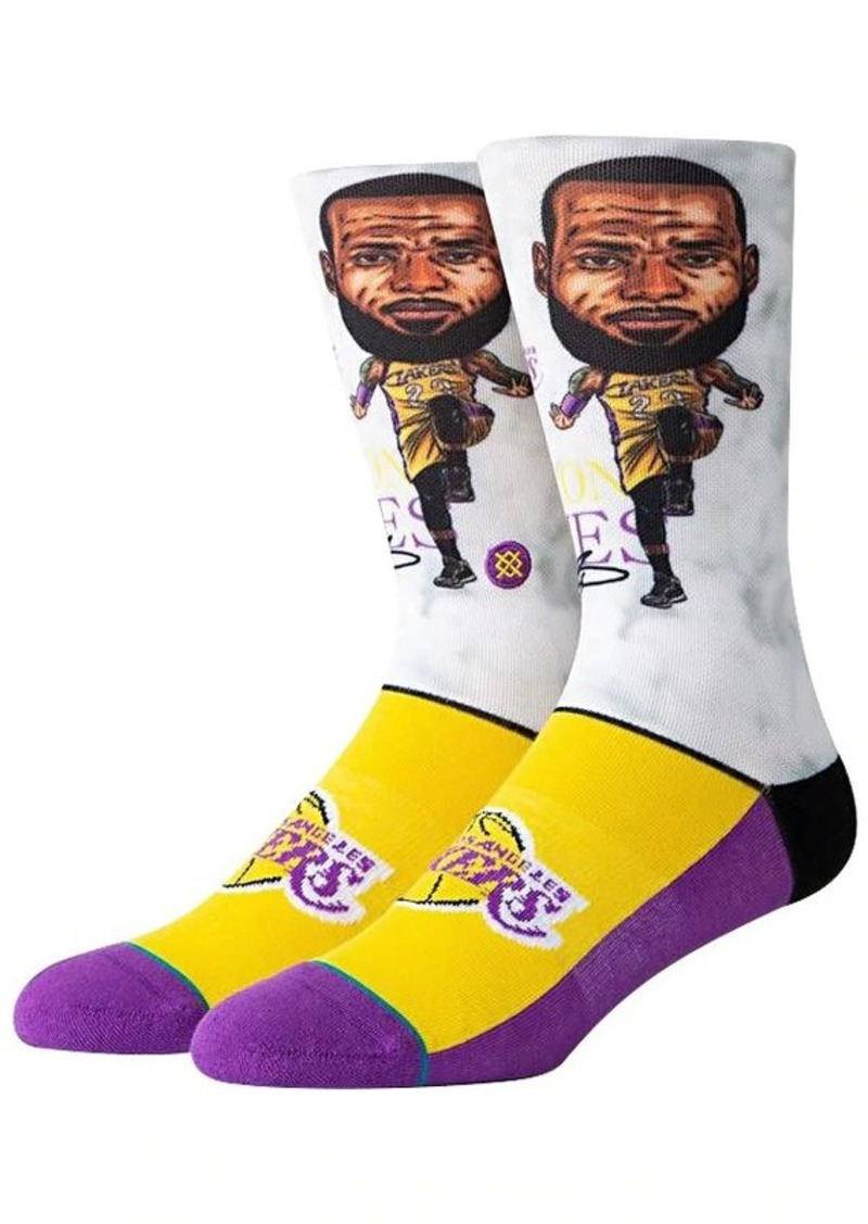 Stance Lebron Big Head Socks