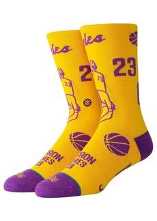 Stance Lebron Stencil Socks