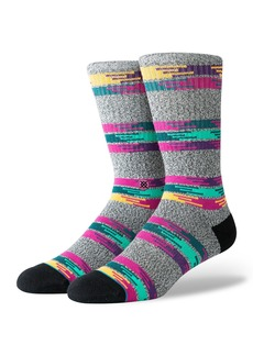 Stance Men's Jackee Striped Classic Crew Socks