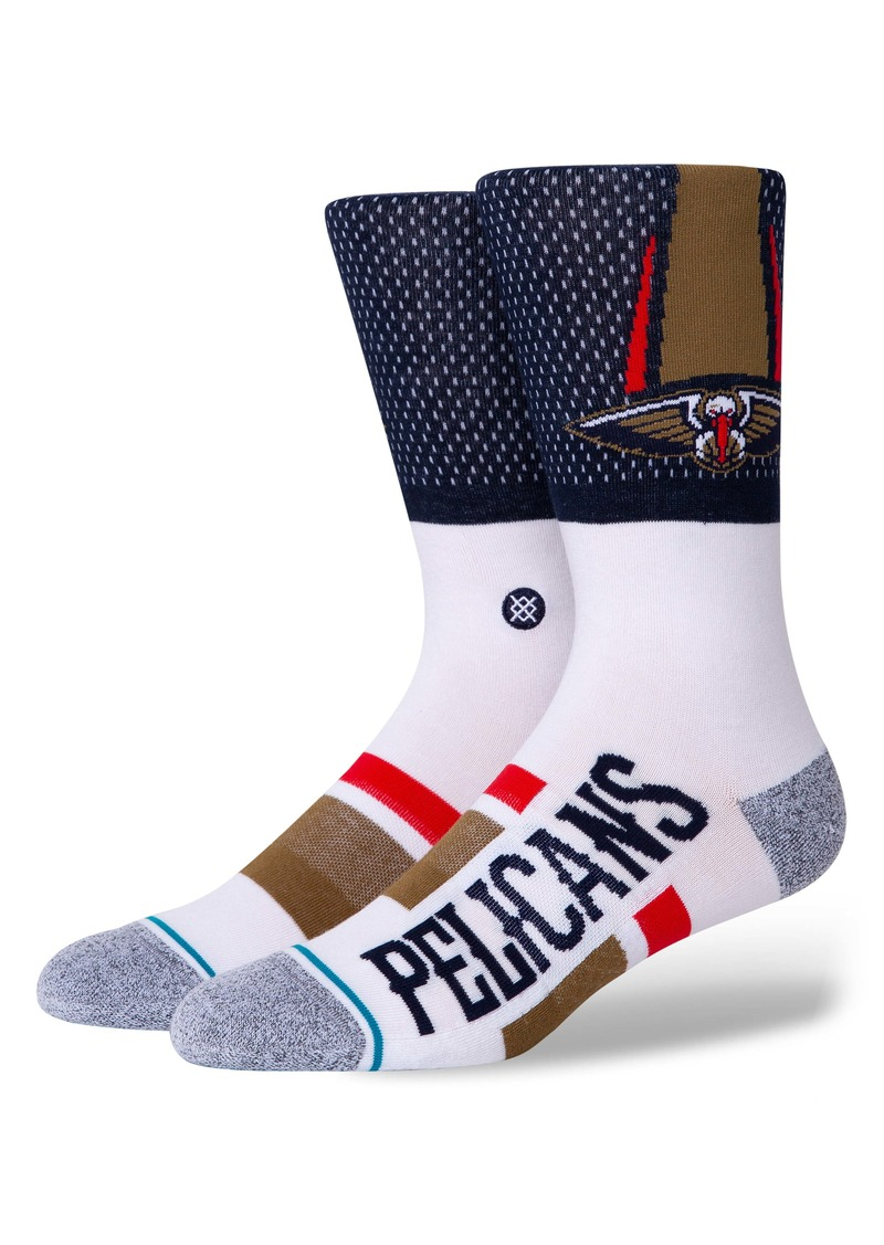 Stance New Orleans Pelicans Crew Socks
