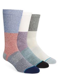 Stance 3-Pack Butter Blend Colorblock Socks