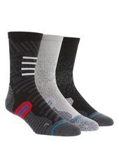 Stance 3-Pack Run Crew Socks