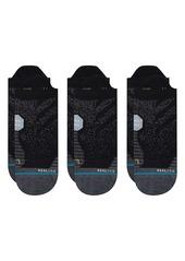 Stance 3-Pack Run Tab No-Show Socks