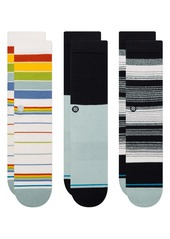 Stance Assorted 3-Pack Badwater Crew Socks
