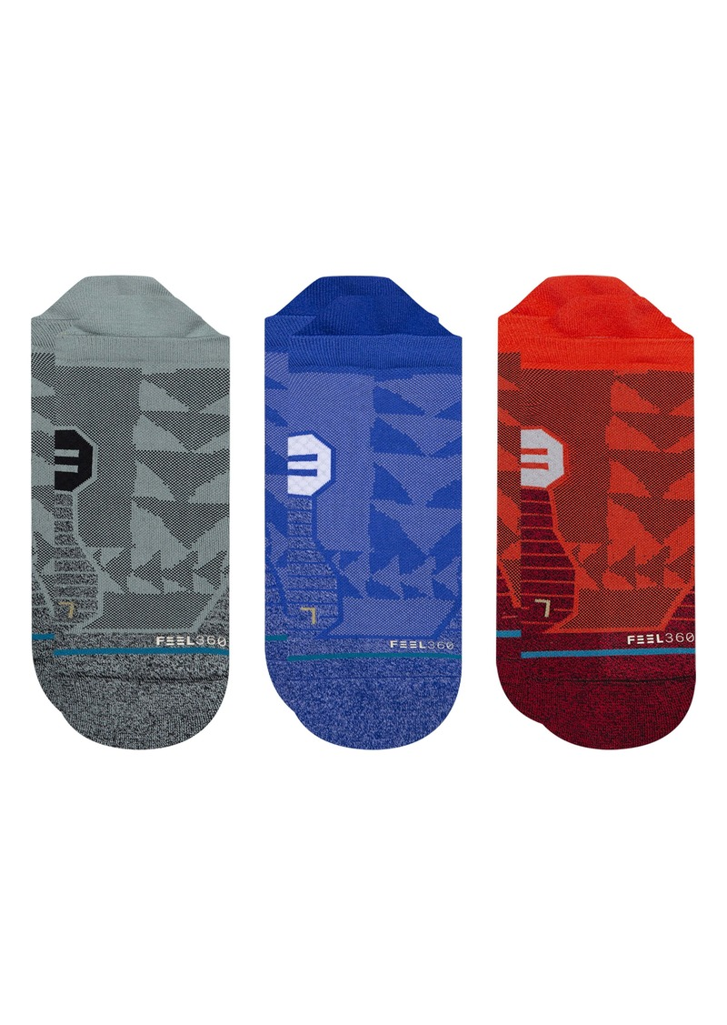 Stance Assorted 3-Pack Sloan No-Show Socks