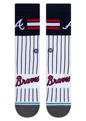 Stance Atlanta Braves Crew Socks