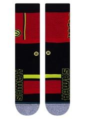 Stance Atlanta Hawks Crew Socks