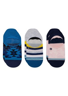 Stance Avalon Assorted 3-Pack No-Show Socks