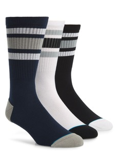 Stance Boyd 3-Pack Stripe Crew Socks