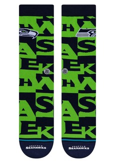 Stance Branded Seattle Seahawks Socks