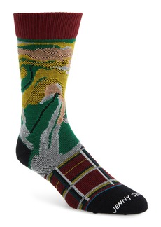 Stance Burnt Rainbow Crew Socks