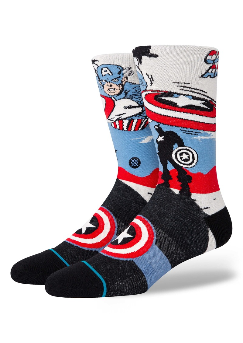 Stance Captain America Marquee Socks