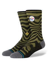 Stance Dash Steelers Crew Socks