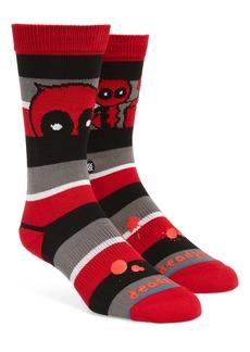 Stance Deadpool Stripe Socks