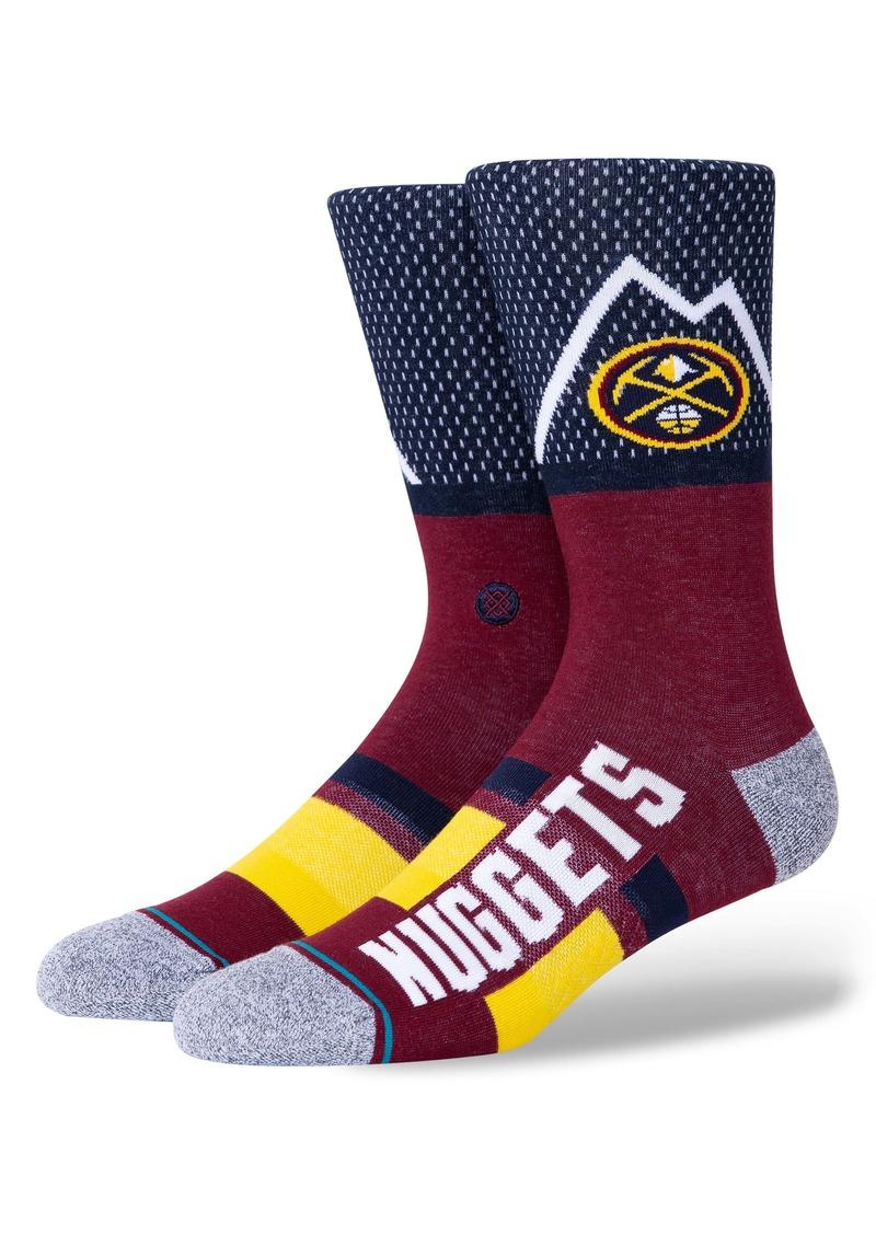 Stance Denver Nuggets Crew Socks