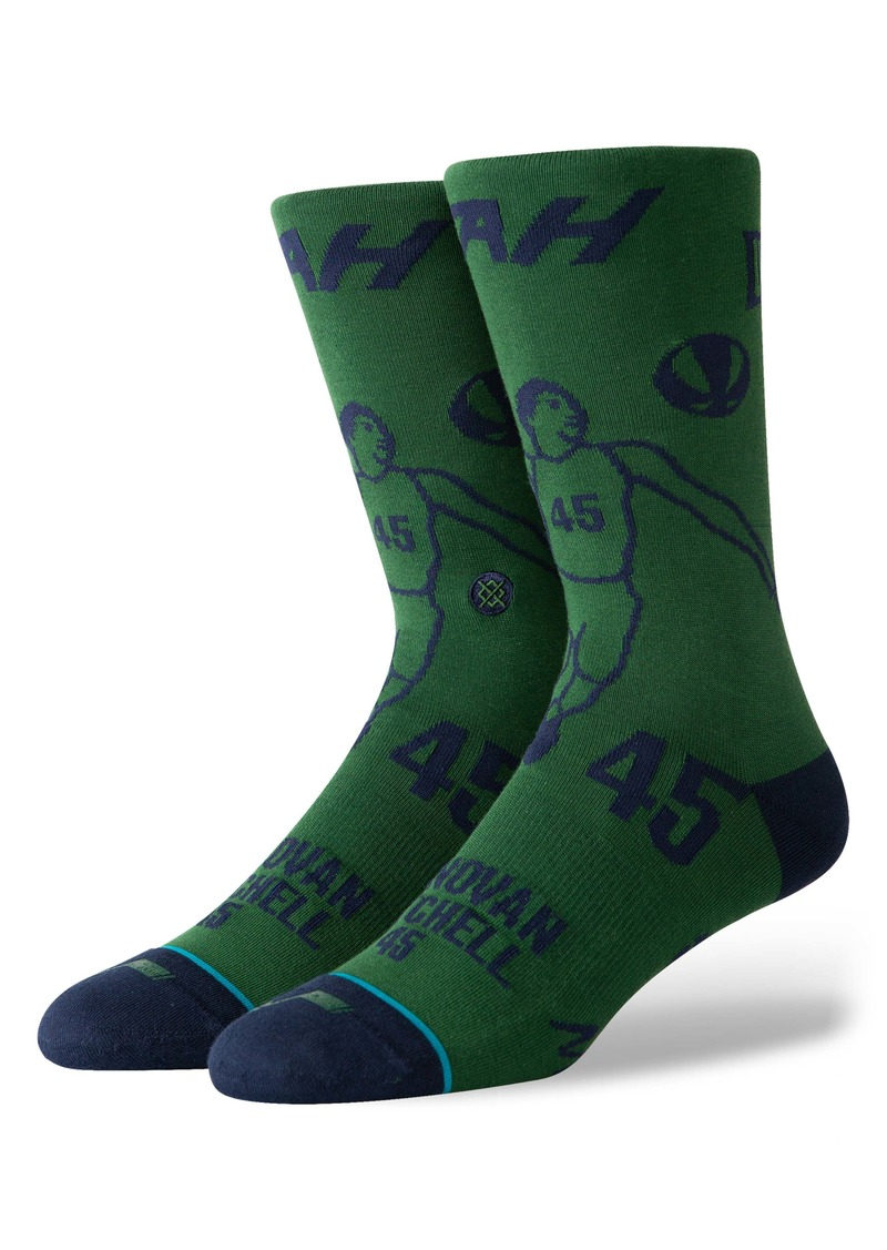 Stance Donovan Mitchell Stencil Socks
