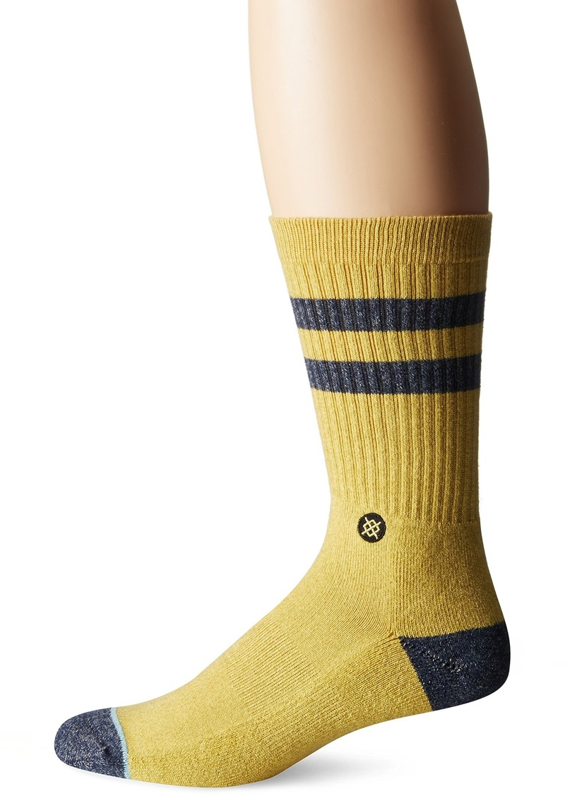 Stance en's Salty Classic Stripe Arch Support Classic Crew Sock
