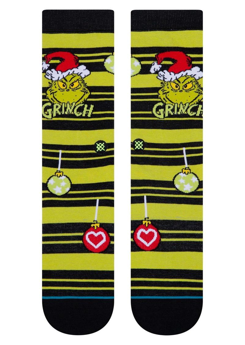 Stance Grinch Ornament Socks