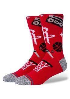 Stance Houston Rockets Crew Socks