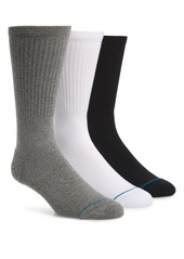 Stance Icon 3-Pack Crew Socks