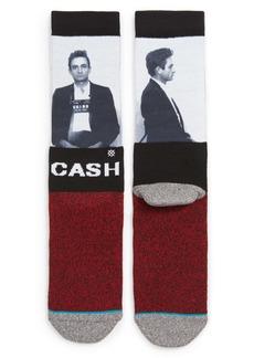 Stance Johnny Cash Mug Shot Socks