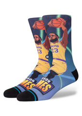 Stance LeBron James Fast Break Crew Socks